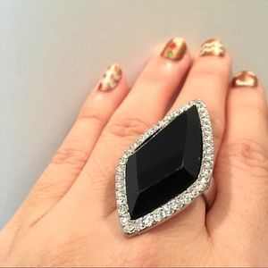 Sparkly Statement Ring